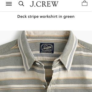 New With Tags J.Crew Men's Button Down